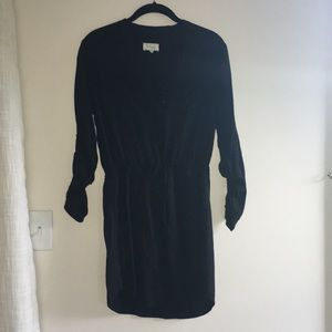 Lou & gray black shirt dress, size XS